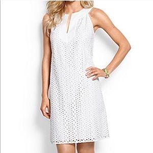 tommy bahama white eyelet dress